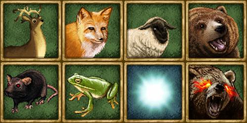 Animals portraits by Dajikun