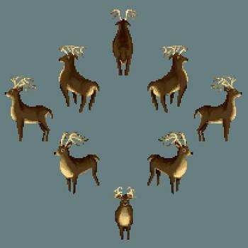 Deer by Dajikun