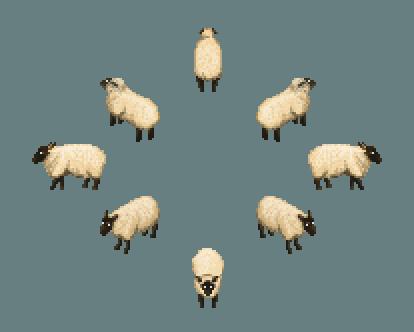 Sheep by Dajikun