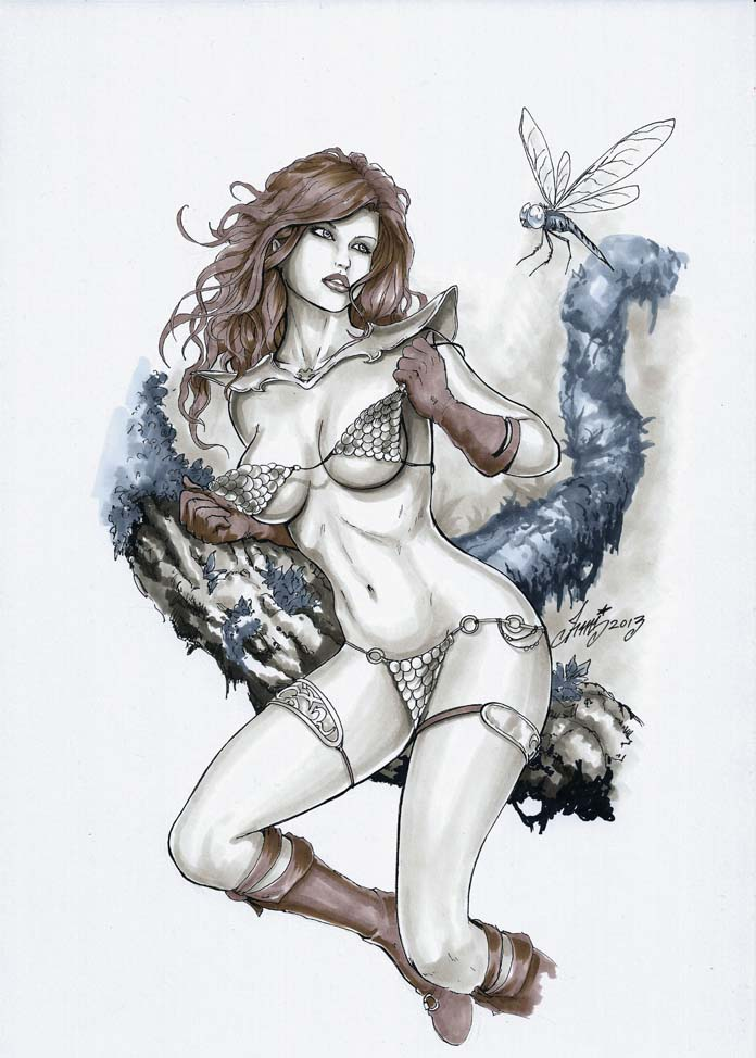 RED SONJA hot! by HM1art