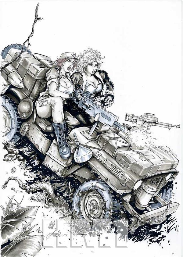 Joe Lady Jaye Cover Girl Art Deviantart