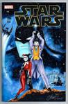 Joker and Harley Quinn Star Wars Cover Batman