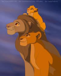 Family of the Lion King (Gender Bender)