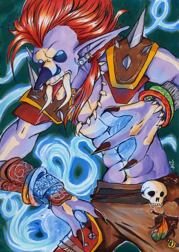 The Power Of The Shaman by ASakuraZaki