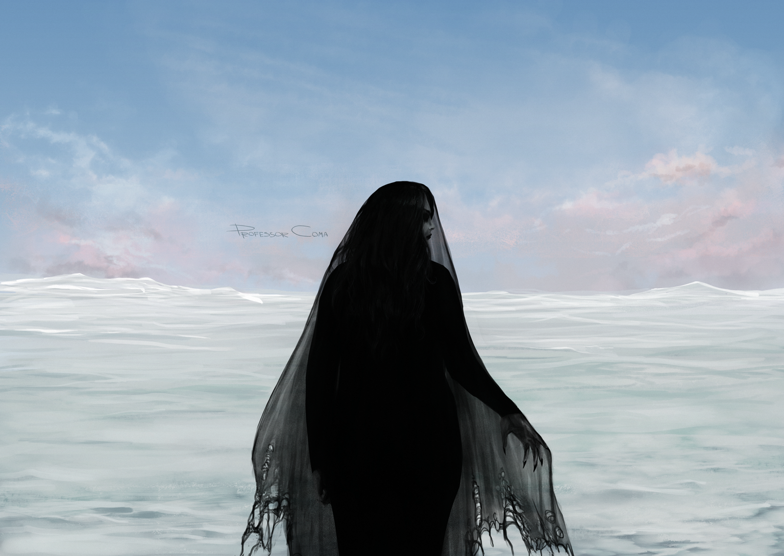 frozen stranger by drowsyghost