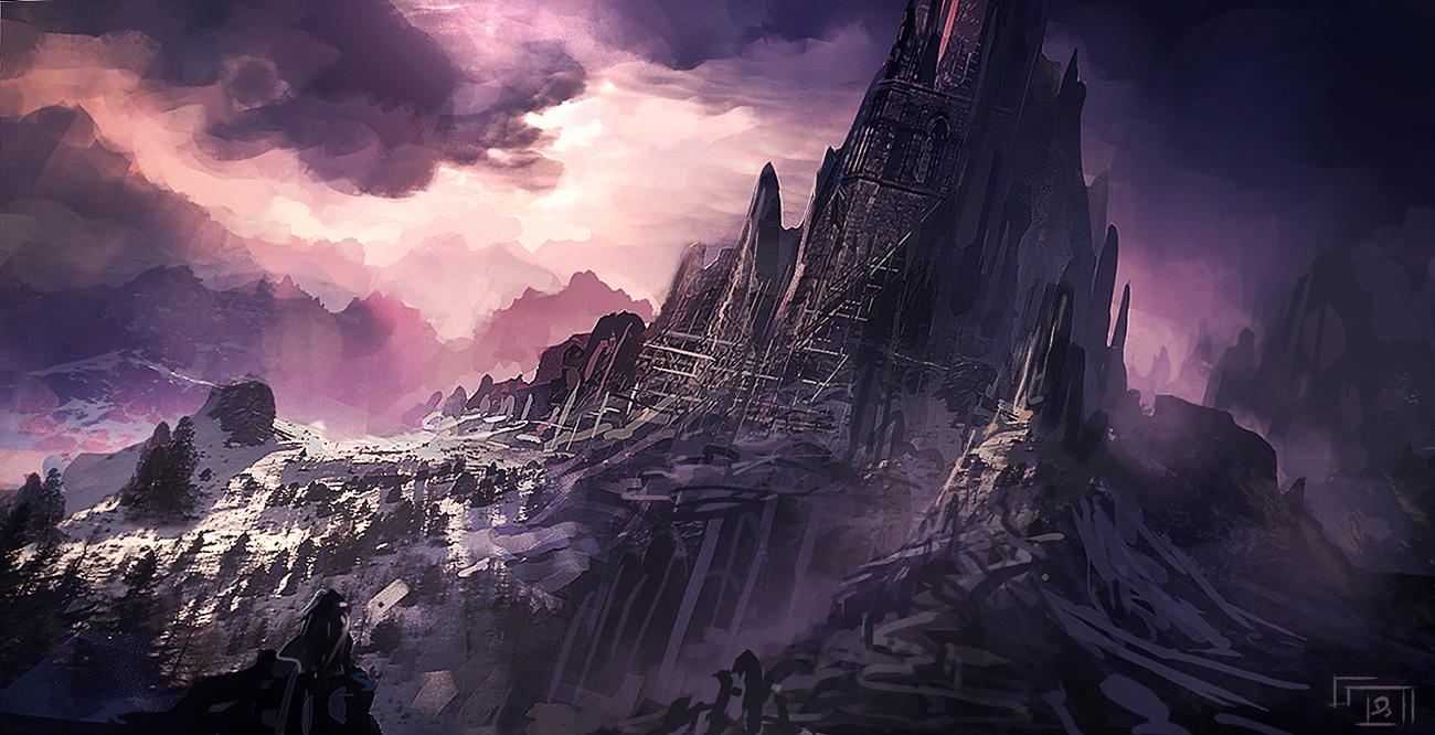 dark castle by xpe on DeviantArt