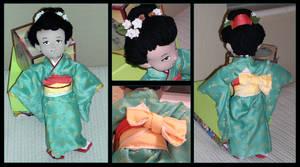 Dancer in Kimono by sorgie