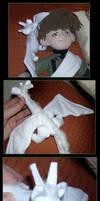 Little White Dragon by sorgie