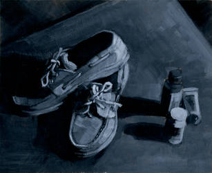 Shoes and 3oz Bottles by sorgie