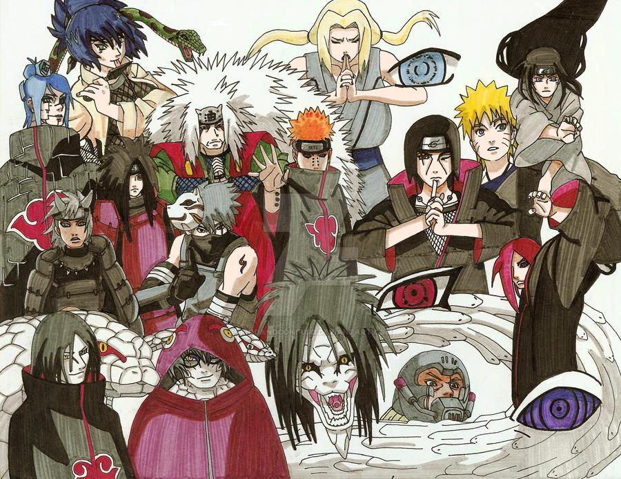 Naruto characters by brodandconfusd on deviantart - All naruto characters ...