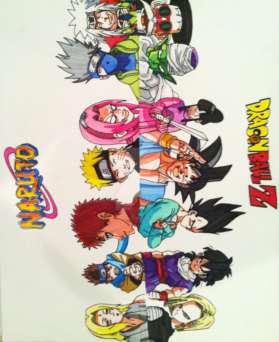 mingming07 688 264 naruto dbz crossover