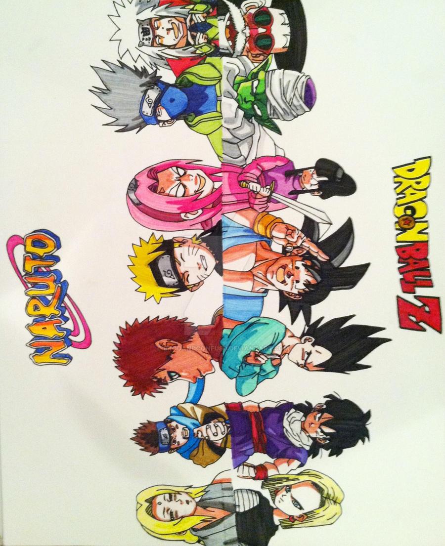 Naruto Dragon Ball Z Crossover