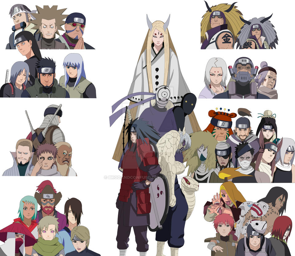 The Fourth Great Ninja War by EmaNosha on DeviantArt