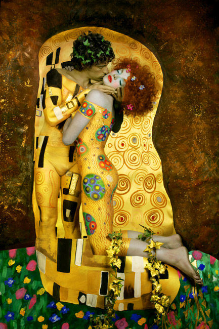 'The Kiss' by Dani Fonseca by AGDdesigns