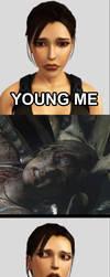 Tomb Raider STAHP meme by AGDdesigns