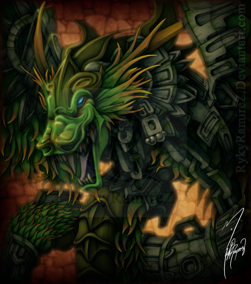 My Gran Quetzalcoatl 2010 D By Rykyramirez On Deviantart