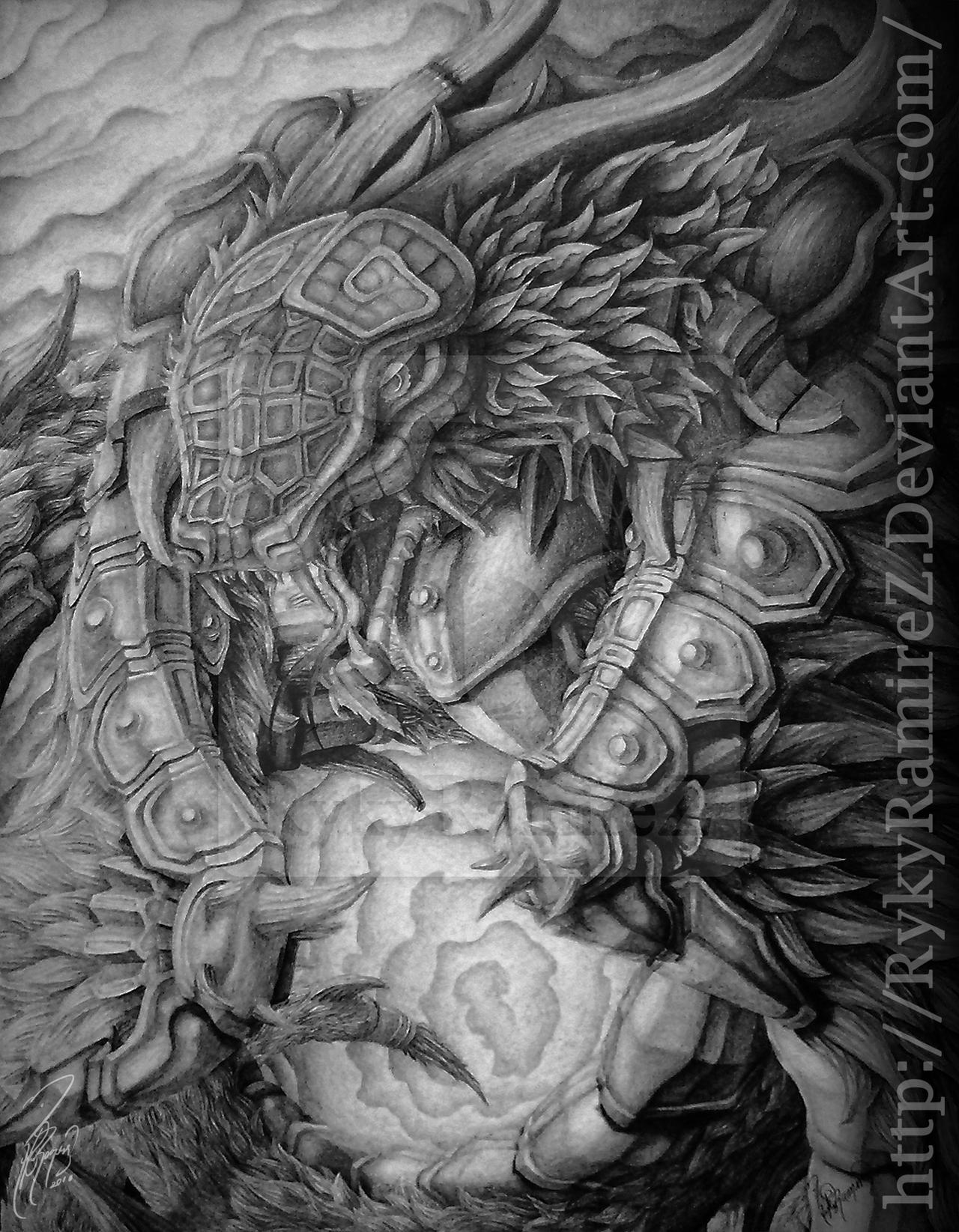 Quetzalcoatl 2010 by rykyramirez on DeviantArt