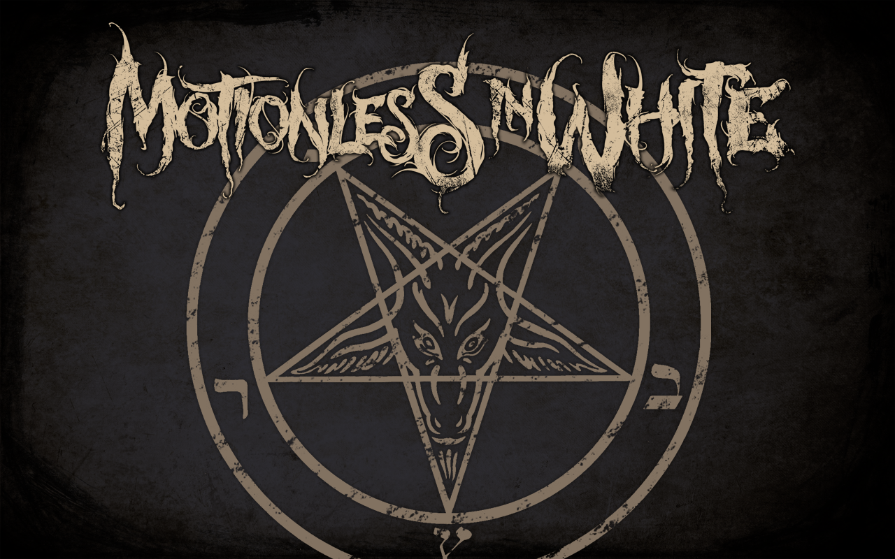 Motionless in white sigil of baphomet by riickyart on - Motionless in white wallpaper ...