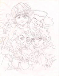 hunter x hunter by lilacncreams