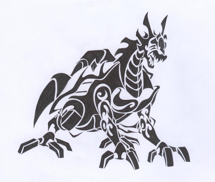 Avatar Dragon: Dragon Avatar: Mikey 'black' By Tarashima On DeviantArt
