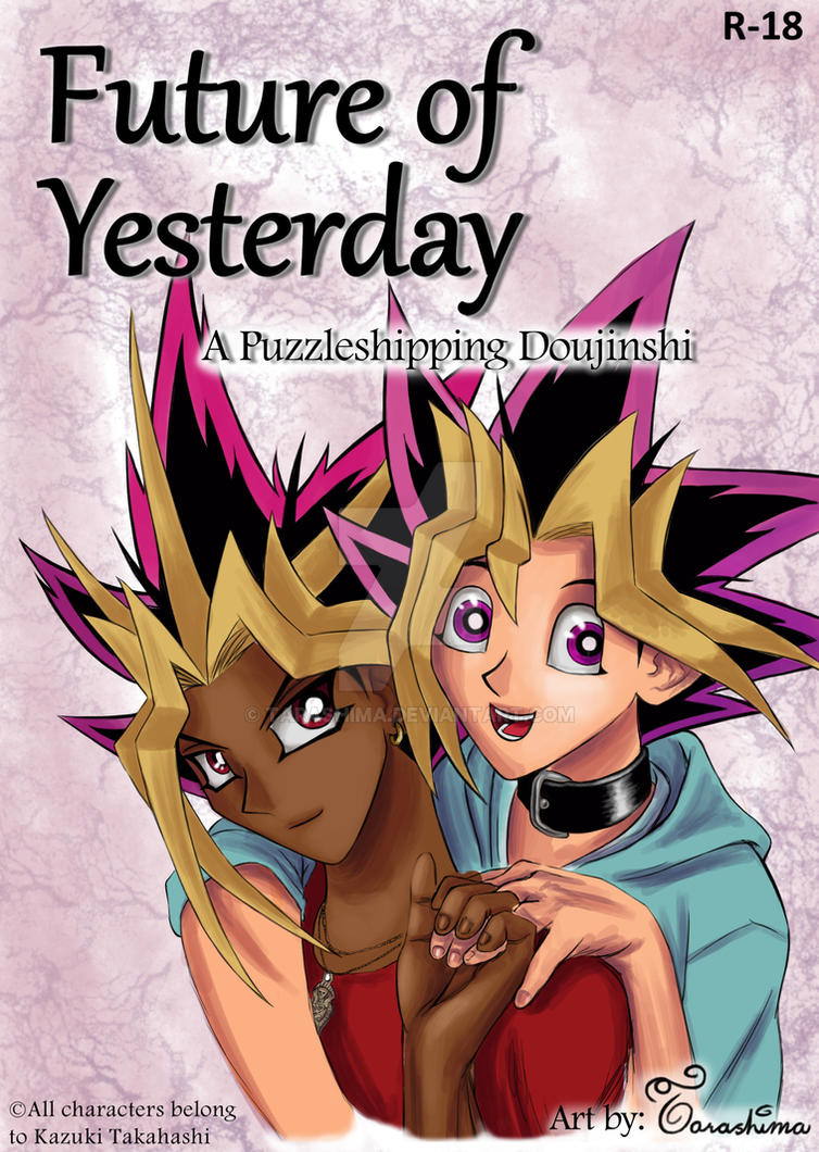 Future of Yesterday titlepage by Tarashima