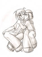 Meg's Boyfriend by KatiraMoon