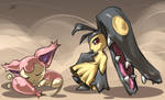Skitty and Mawile