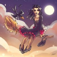 Magica De Spell by KatiraMoon