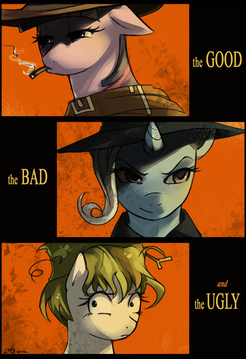 The Good, the Bad and the Ugly by KatiraMoon