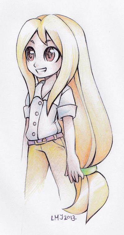 Olivia doodle by KatiraMoon