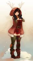 Merry Christmas by KatiraMoon
