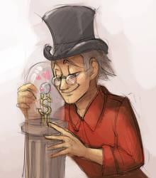 Scrooge and dime by KatiraMoon