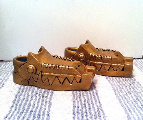 Zant's shoes by Angler-Shark