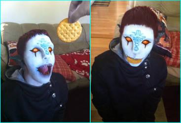 Who's a good Twili? [Zant makeup] by Angler-Shark