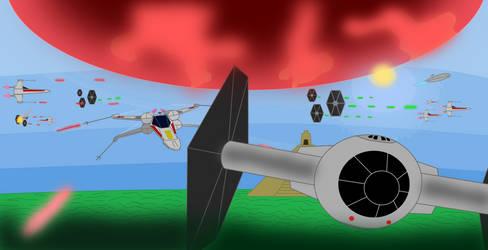 Evacuation of Yavin IV (Remastered)