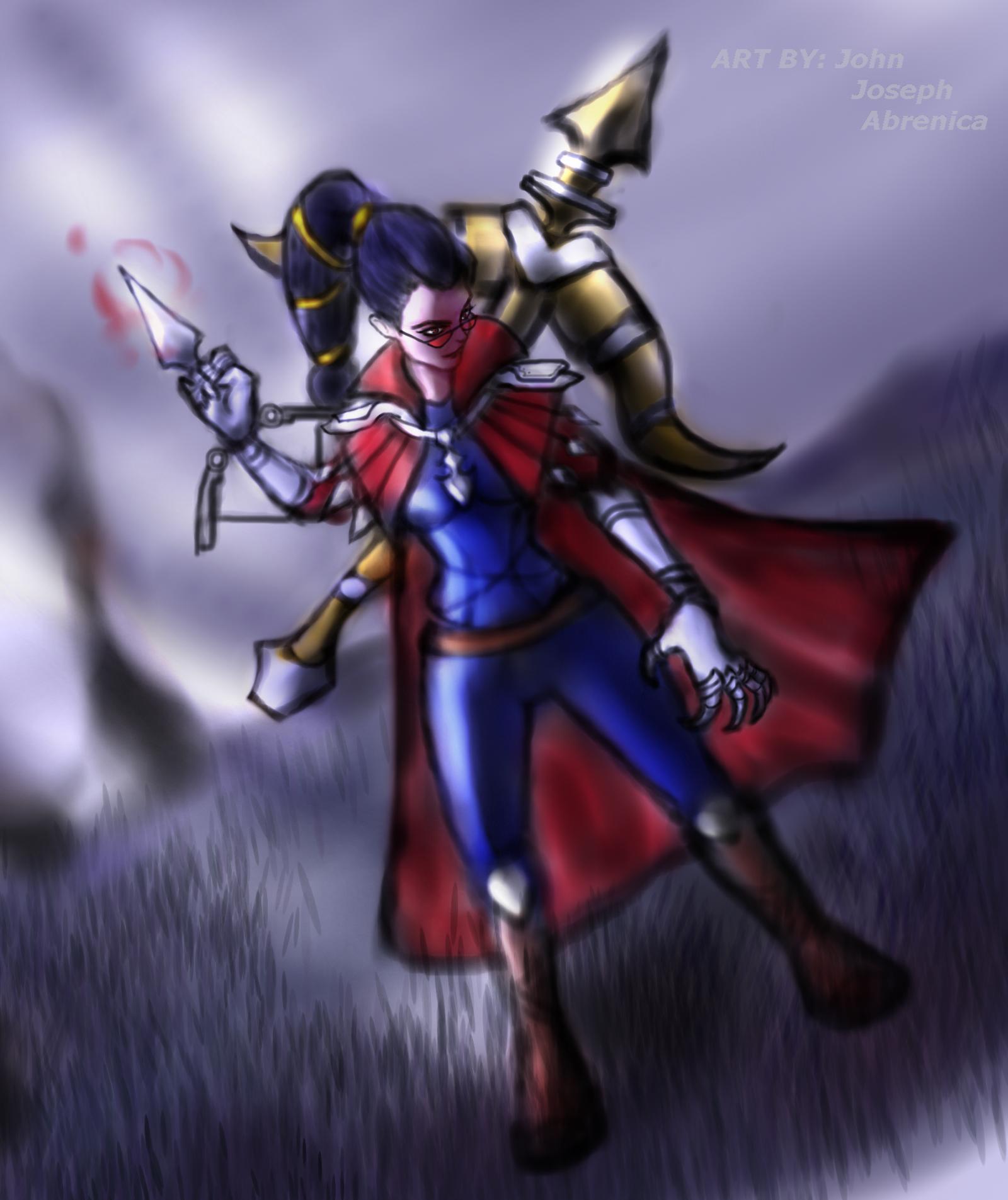 League of Legends: Vayne by KingGonzoSSM on DeviantArt