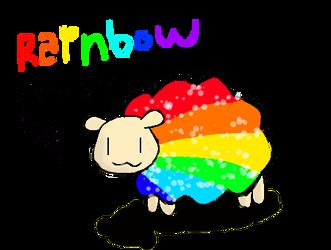 Rainbow Sheep by slim58