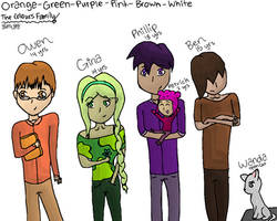 Orange-Green-Purple-Pink-Brown-White: The Colours by slim58