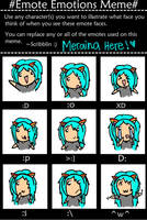 Meraina Emotes Meme by slim58