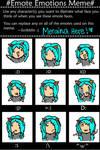 Meraina Emotes Meme