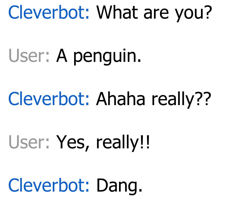 Dang - Cleverbot