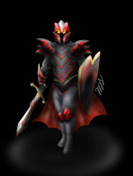 Dragon Knight w/o Fire (just cus) by slim58