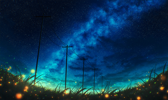 Glowing night - Version 2