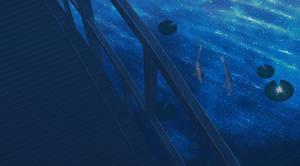 Starry lake - scene 1