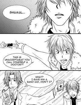REBORN: Band-Aid Drama Page 1