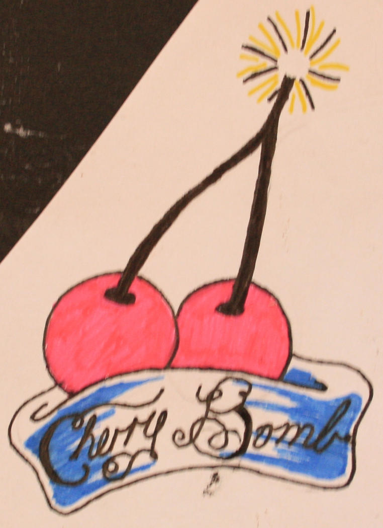 Cherry bomb tattoo design by mistress of ink on deviantart for Cherry bomb tattoo parlor perth
