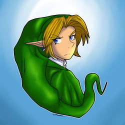 The hero of time lol