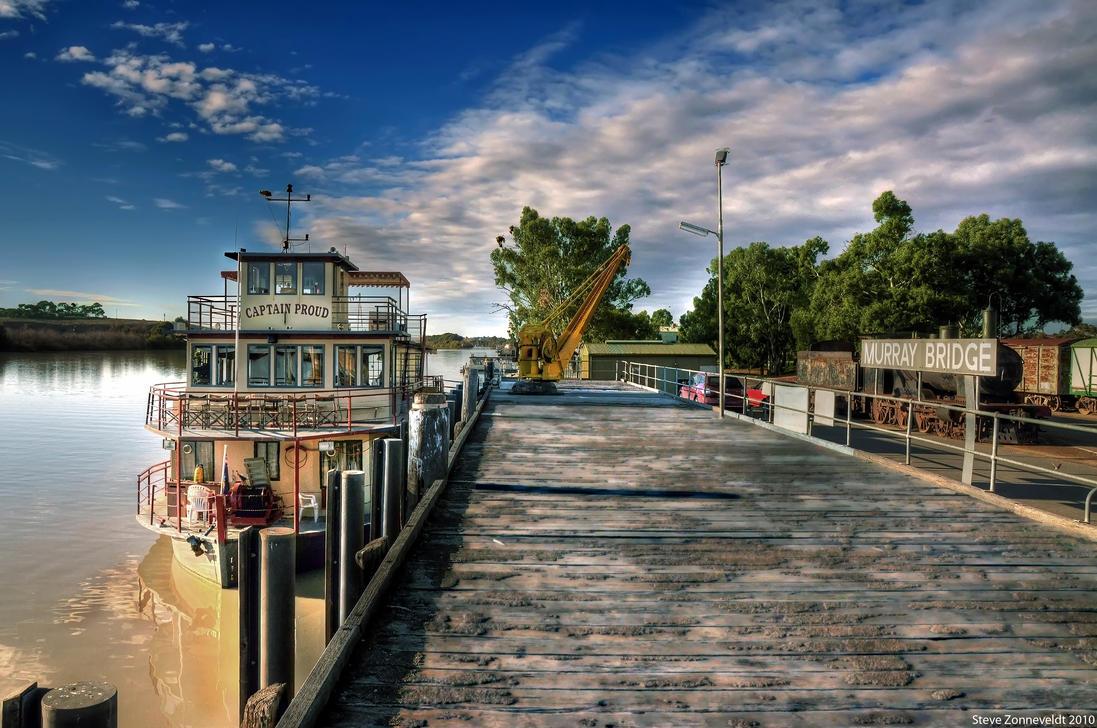 The Port Of Murray Bridge by djzontheball