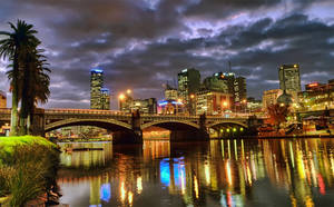 Looking towards the Rialto (Melbourne) by djzontheball