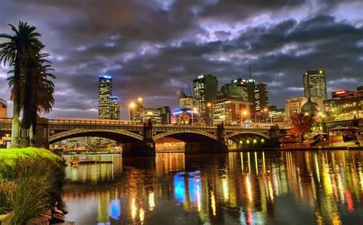 Looking towards the Rialto (Melbourne)
